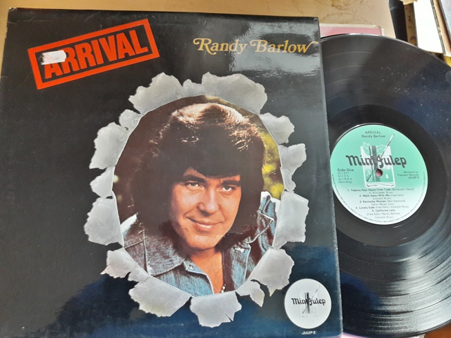 Randy Barlow - Arrival - Mint Records JULEP.5 UK 1977 NM